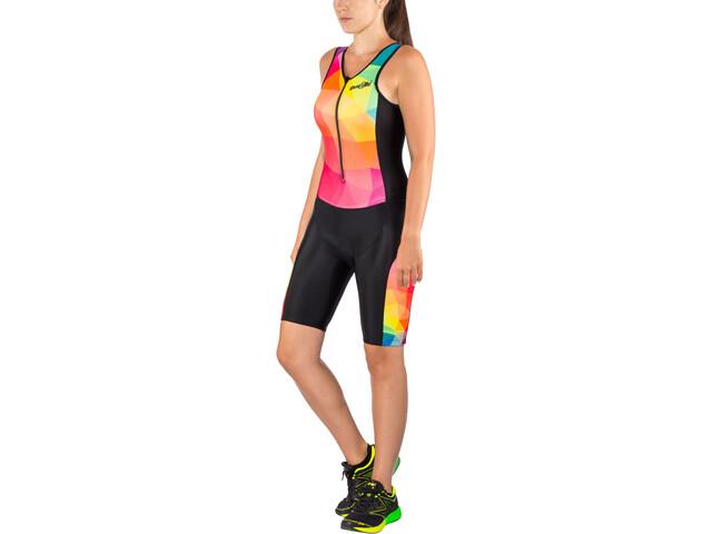 Dare2Tri Limited Funky Strój triathlonowy bez rękawów Kobiety, black